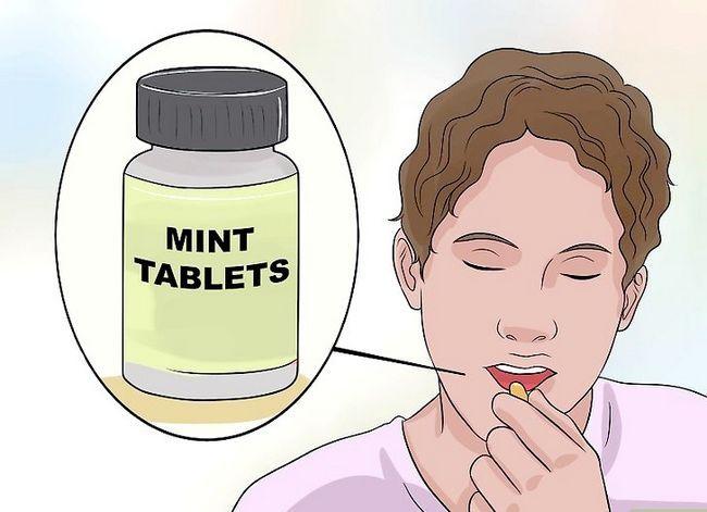 Titel afbeelding Control Bad Breath Step 5
