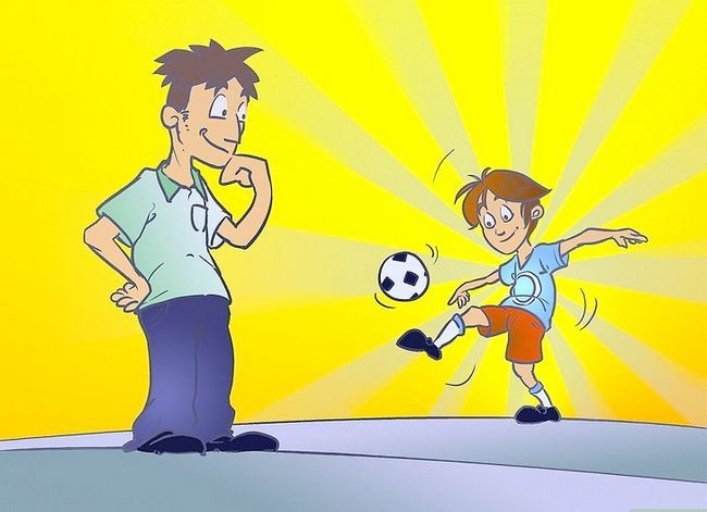 Titel afbeelding Turn Your Child Into a Soccer Star Stap 1