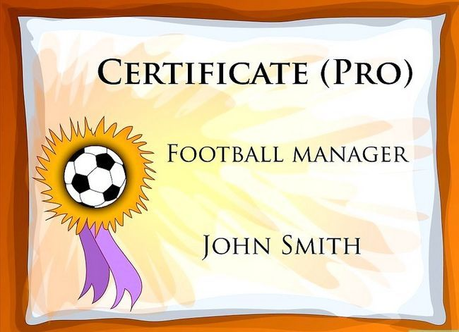 Titel afbeelding Become a Pro Football (Soccer) Manager Step 9