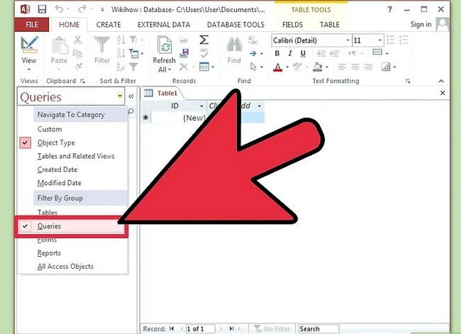 Titel afbeelding Create Action Queries in Microsoft Access Stap 2