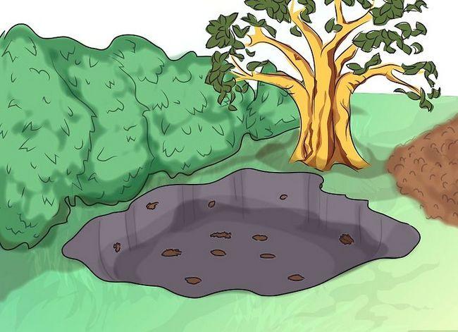 Titel afbeelding Make a Bog Garden Step 2