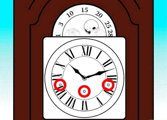 Hoe een staande klok te winden