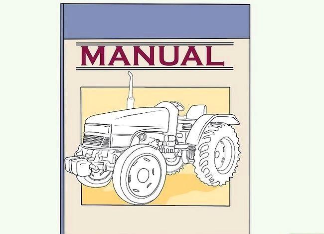Hoe een tractor te onderhouden