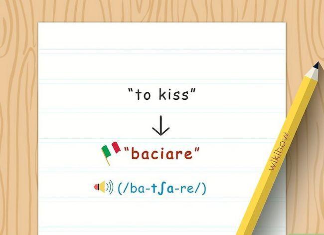Titel afbeelding Say Kiss in Italiaans Stap 1
