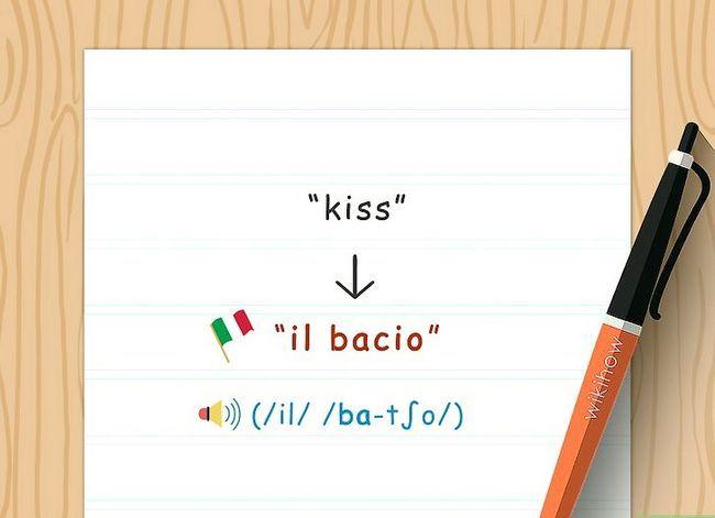 Titel afbeelding Say Kiss in Italian Step 3