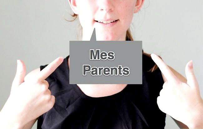 Titel afbeelding Say Family Members in French Step 1