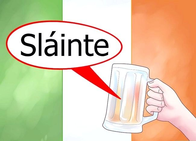 Titel afbeelding Say Cheers in Irish Step 1