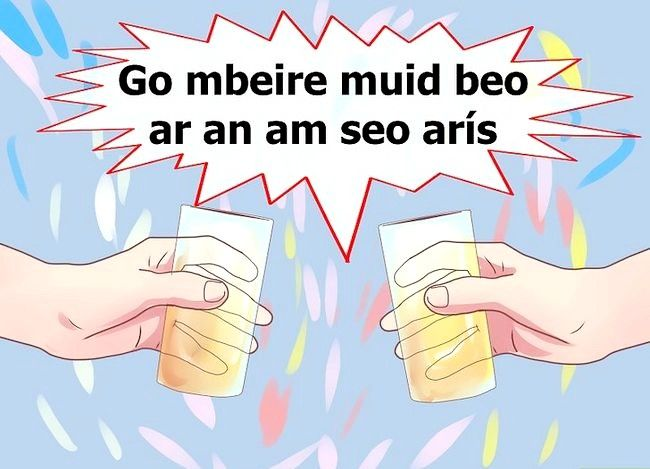 Titel afbeelding Say Cheers in Irish Step 11