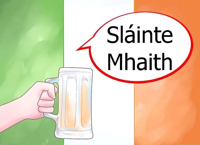Titel afbeelding Say Cheers in Irish Step 2