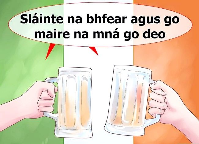 Titel afbeelding Say Cheers in Irish Step 5