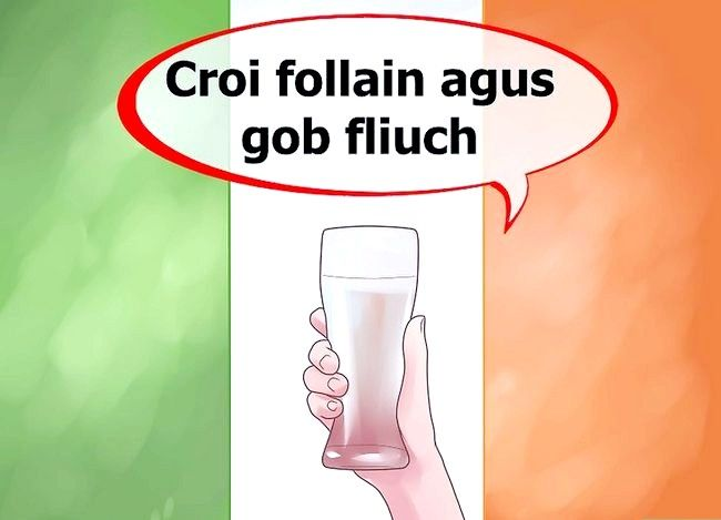 Titel afbeelding Say Cheers in Irish Step 6