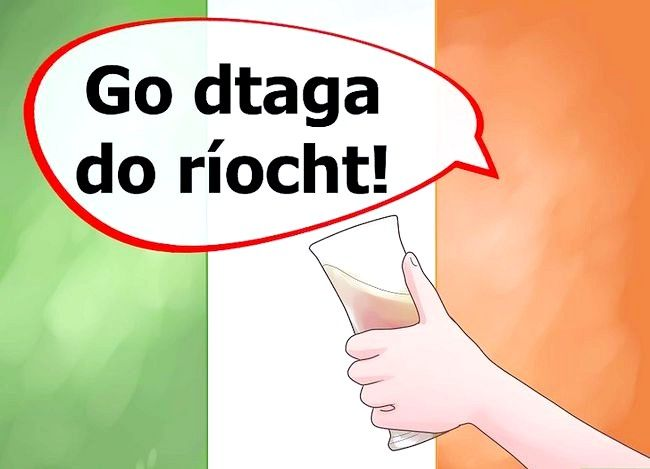 Titel afbeelding Say Cheers in Irish Step 9
