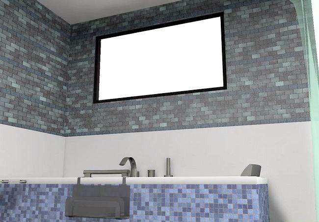 Hoe een kleine badkamer te versieren