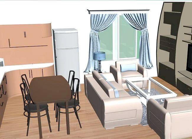 Hoe een studio appartement te versieren