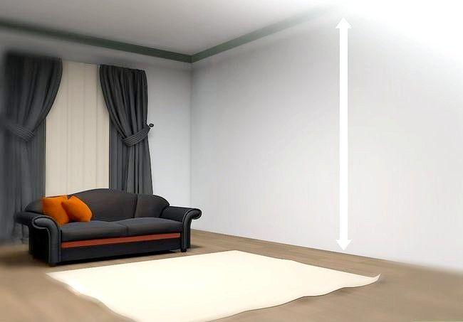 Hoe een complete muur te versieren zonder te schilderen