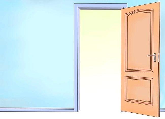 Hoe je een deur omgooit