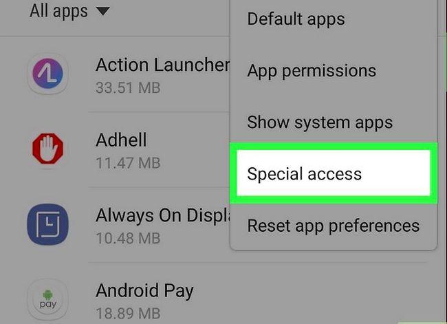 Titel afbeelding Turn Off Screen Overlay op Samsung Galaxy Step 4