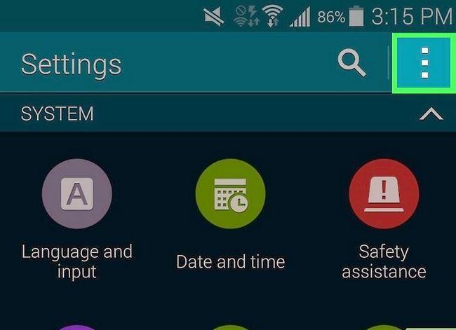 Titel afbeelding Turn Off Screen Overlay op Samsung Galaxy Step 3