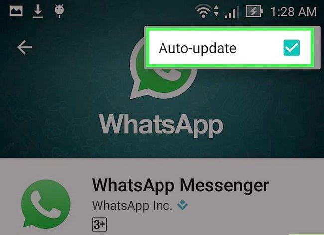 Titel afbeelding Turn Off Automatische updates voor WhatsApp stap 9