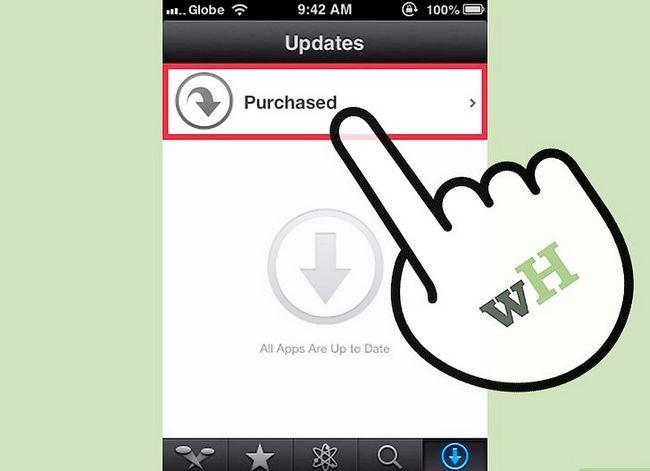 Titel afbeelding Downloaden van gekochte apps downloaden met iCloud Stap 4