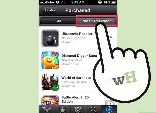 Titel afbeelding Downloaden van gekochte apps downloaden met iCloud Stap 5