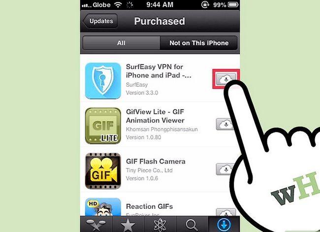 Titel afbeelding Download Aankoop Apps downloaden met iCloud Stap 6