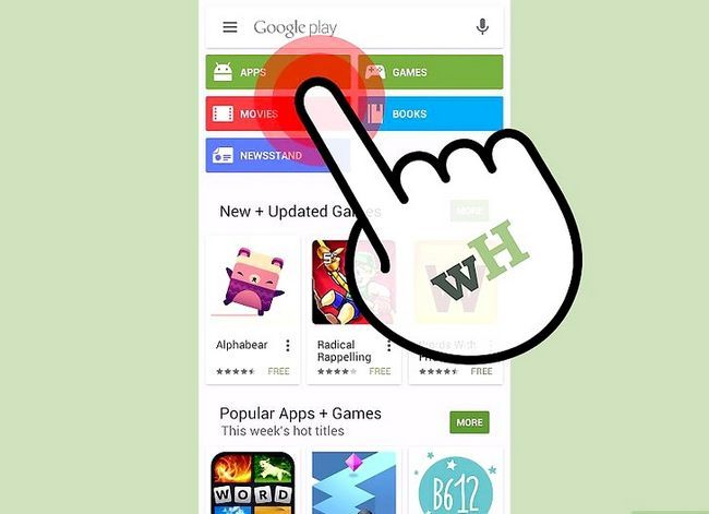 Titel afbeelding Download Apps on the Samsung Galaxy S3 Step 3