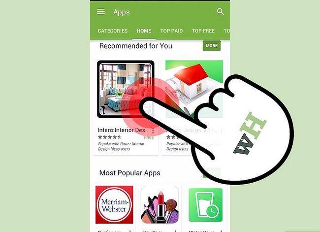 Afbeelding met de titel Download Apps op de Samsung Galaxy S3 Stap 4