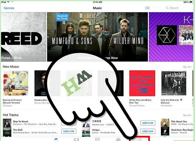 Titel afbeelding iTunes-aankopen downloaden naar een iPad Stap 2