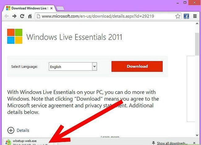Titel afbeelding Downloaden en installeren Windows Live Messenger Stap 5