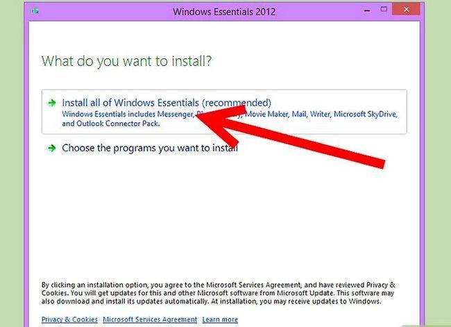 Titel afbeelding Downloaden en installeren Windows Live Messenger Stap 6