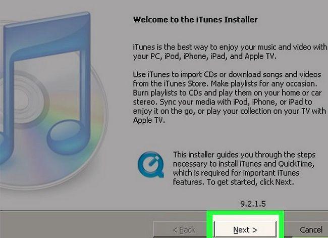 Titel afbeelding Download iTunes Step 6