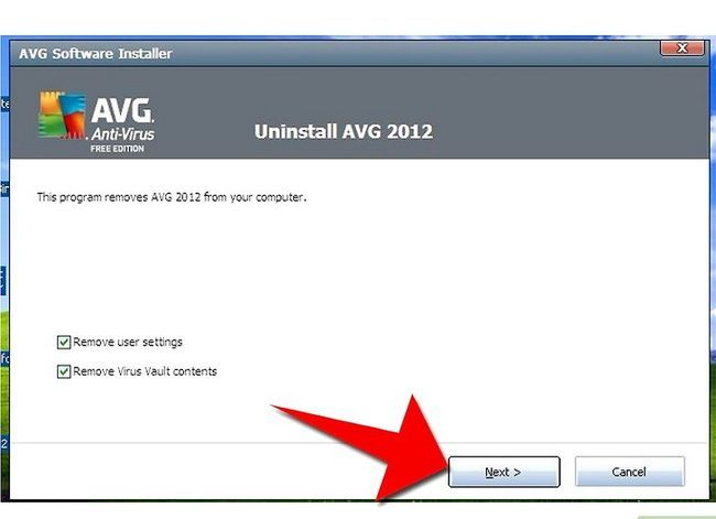 Titel afbeelding Uninstall AVG Antivirus Free Edition 2012 Stap 10