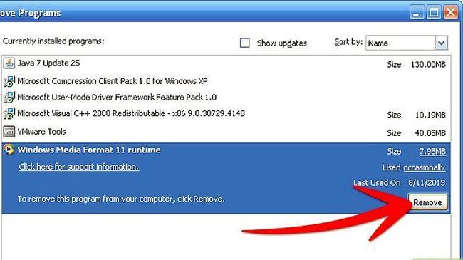 Titel afbeelding Uninstall Windows Media Player 11 Step 12