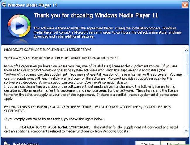 Titel afbeelding Uninstall Windows Media Player 11 Step 15