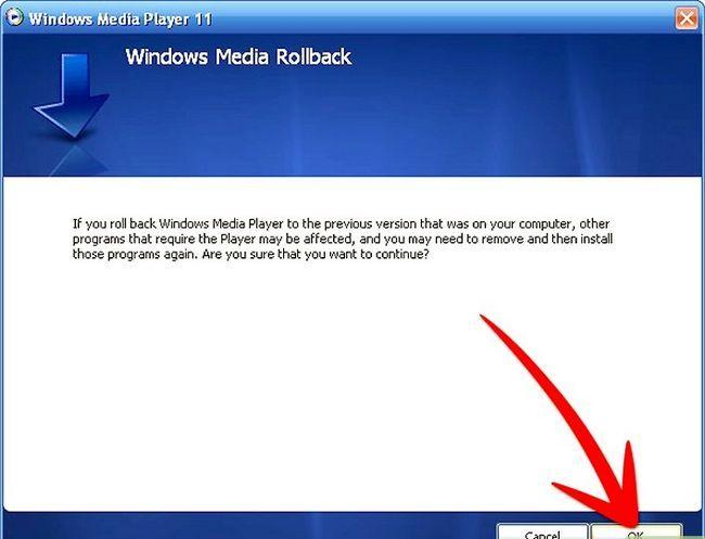 Titel afbeelding Uninstall Windows Media Player 11 Step 8