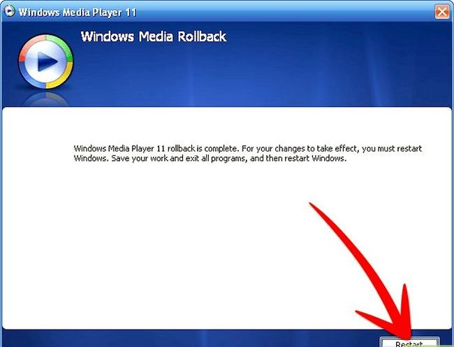 Titel afbeelding Uninstall Windows Media Player 11 Step 9