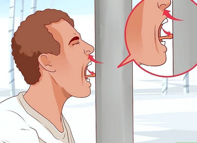 Titel afbeelding Remove a Tongue Stuck on Frozen Metal Step 6