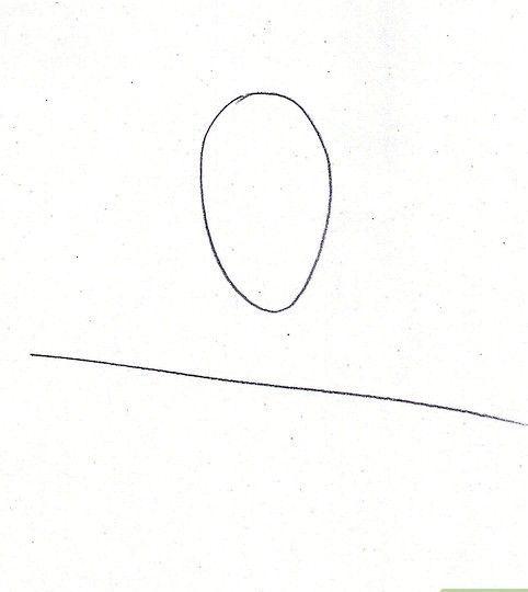Afbeelding met titel Draw Benjamin Franklin Stap 1