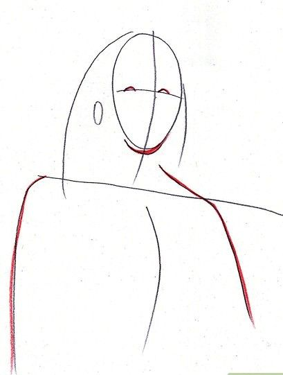Afbeelding met titel Draw Benjamin Franklin Step 3