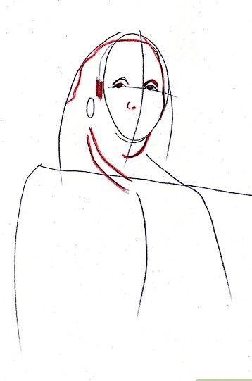 Afbeelding met titel Draw Benjamin Franklin Step 4