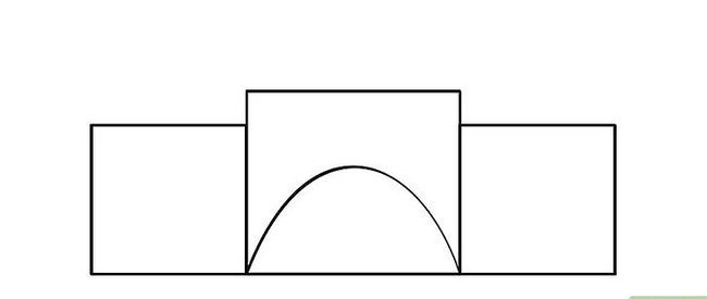 Titel afbeelding How to Draw a Castle Step 3