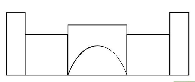Titel afbeelding How to Draw a Castle Step 4