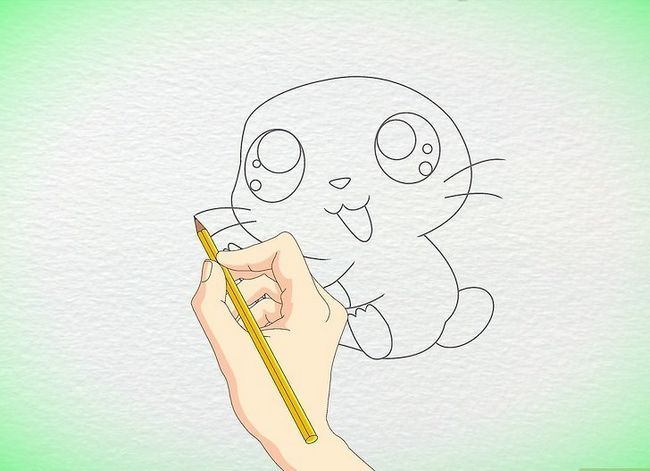Titel afbeelding Draw an Anime Hamster Step 7