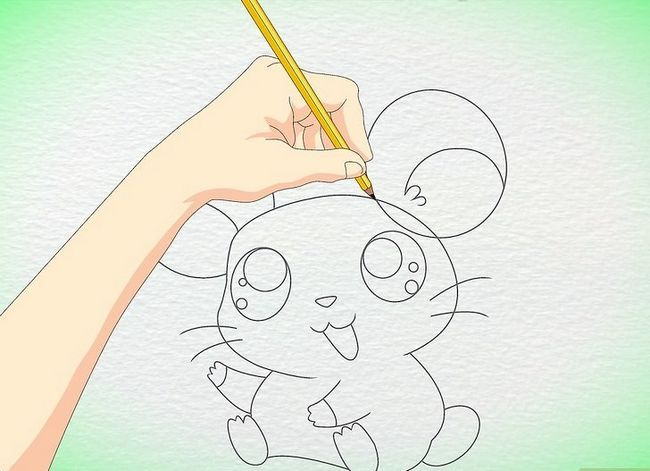 Titel afbeelding Draw an Anime Hamster Step 8
