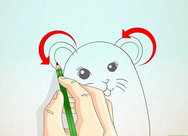 Titel afbeelding Draw a Hamster Step 12