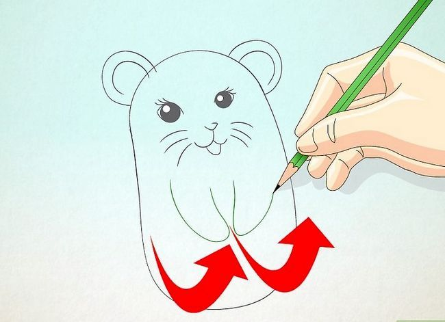 Titel afbeelding Draw a Hamster Step 13