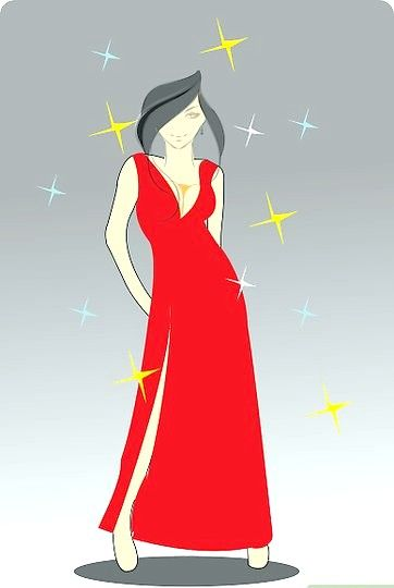 Titel afbeelding Draw a Cute Dress Intro