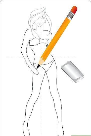 Titel afbeelding Draw a Cute Dress Step 7