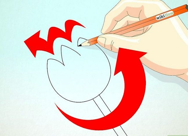 Titel afbeelding Draw a Tulip Step 6